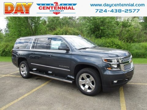 Satin Steel Metallic 2019 Chevrolet Suburban LT 4WD