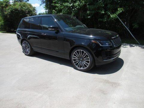 Santorini Black Metallic 2019 Land Rover Range Rover Autobiography