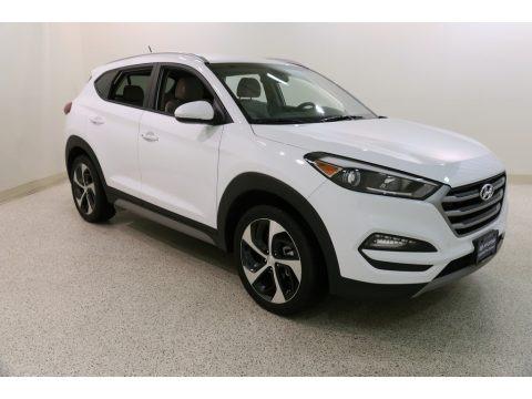 Dazzling White 2017 Hyundai Tucson Eco AWD