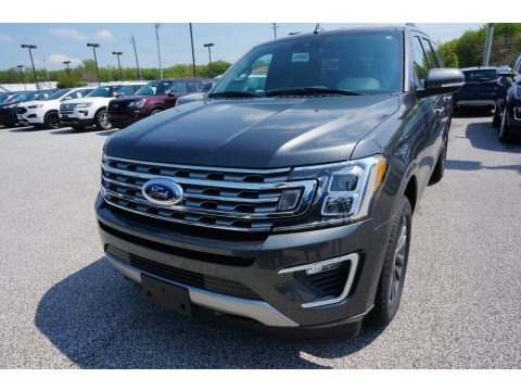 Magnetic Metallic 2019 Ford Expedition Limited Max 4x4