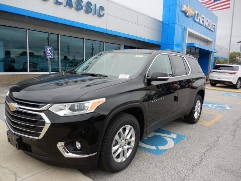 Mosaic Black Metallic 2019 Chevrolet Traverse LT AWD
