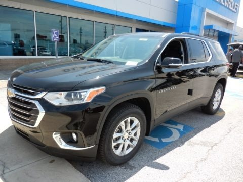 Mosaic Black Metallic 2019 Chevrolet Traverse LT