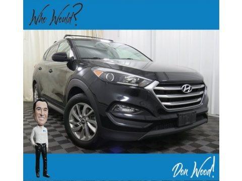Black Noir Pearl 2017 Hyundai Tucson SE AWD