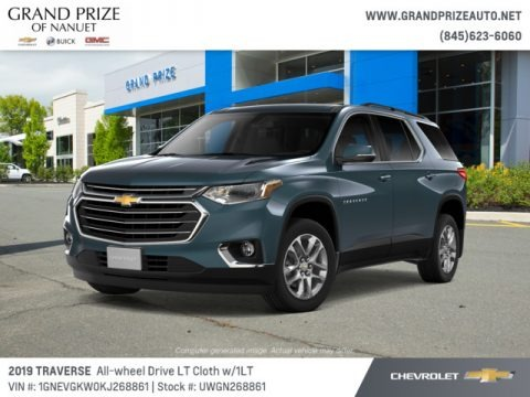 Graphite Metallic 2019 Chevrolet Traverse LT AWD