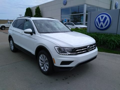 Pure White 2019 Volkswagen Tiguan SE 4MOTION