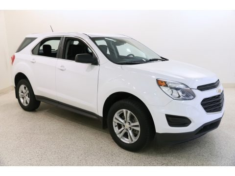 Summit White 2016 Chevrolet Equinox LS AWD