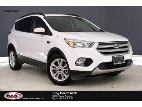 Oxford White 2018 Ford Escape SE 4WD