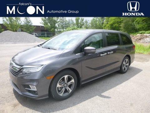 Modern Steel Metallic 2019 Honda Odyssey Touring
