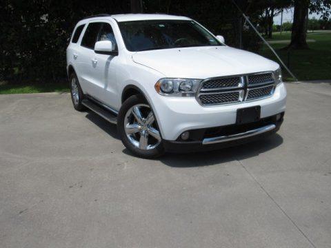 Bright White 2013 Dodge Durango SXT