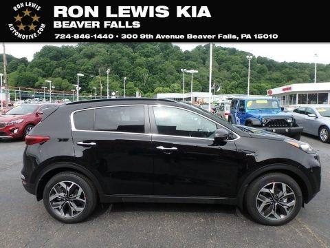 Black Cherry 2020 Kia Sportage EX AWD