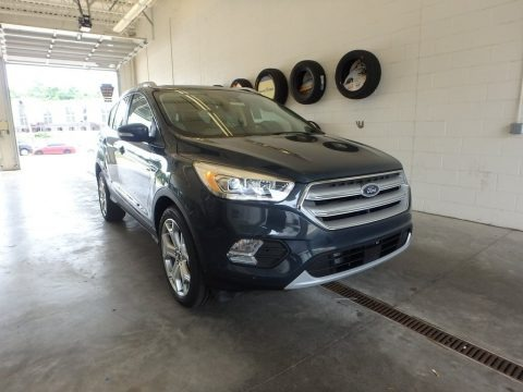 Baltic Sea Green 2019 Ford Escape Titanium 4WD