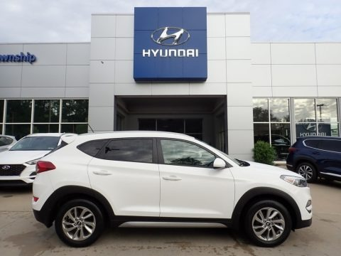 Dazzling White 2017 Hyundai Tucson SE AWD