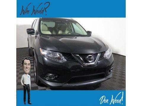 Magnetic Black 2016 Nissan Rogue SL