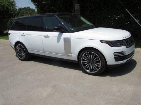 Fuji White 2019 Land Rover Range Rover Autobiography