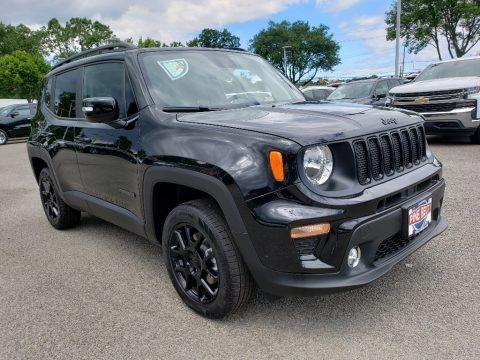 Black 2019 Jeep Renegade Altitude 4x4
