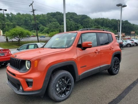 Omaha Orange 2019 Jeep Renegade Latitude 4x4
