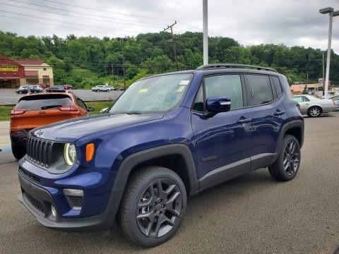 Jetset Blue 2019 Jeep Renegade Latitude 4x4