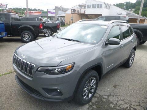 Sting-Gray 2019 Jeep Cherokee Latitude Plus 4x4