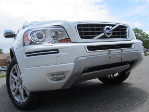 Crystal White Pearl Metallic 2014 Volvo XC90 3.2