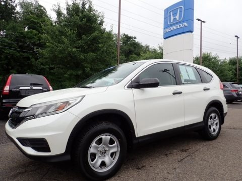 White Diamond Pearl 2015 Honda CR-V LX AWD
