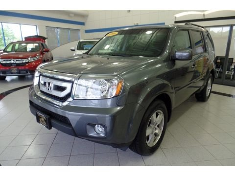 Polished Metal Metallic 2011 Honda Pilot EX 4WD