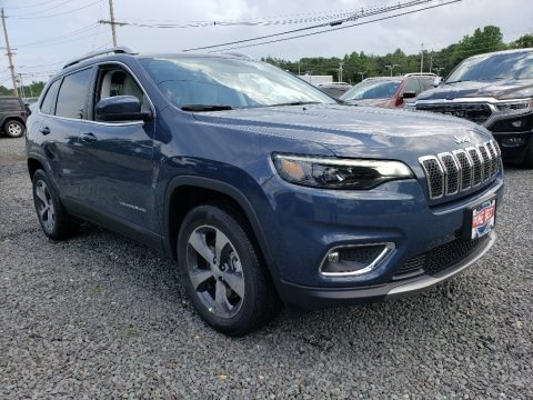 Blue Shade Pearl 2019 Jeep Cherokee Limited 4x4