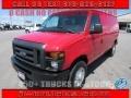 Ford E Series Van E250 Cargo Vermillion Red photo #1