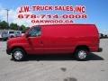 Ford E Series Van E250 Cargo Vermillion Red photo #2