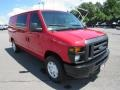 Ford E Series Van E250 Cargo Vermillion Red photo #7