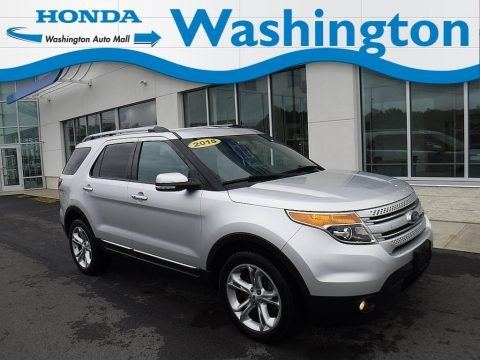 Ingot Silver 2015 Ford Explorer Limited 4WD