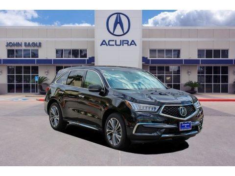 Majestic Black Pearl 2019 Acura MDX Technology