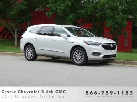 White Frost Tricoat 2019 Buick Enclave Premium