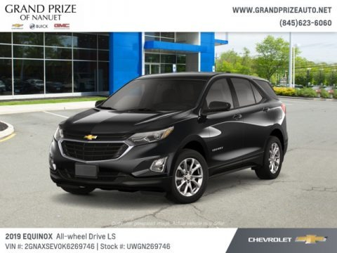 Mosaic Black Metallic 2019 Chevrolet Equinox LS AWD