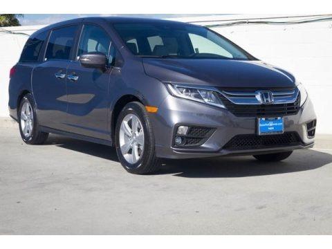 Modern Steel Metallic 2019 Honda Odyssey EX-L