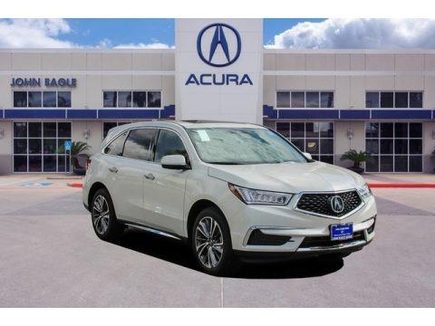 White Diamond Pearl 2019 Acura MDX Technology