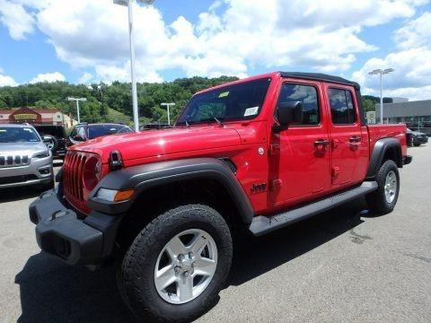 Firecracker Red 2020 Jeep Gladiator Sport 4x4