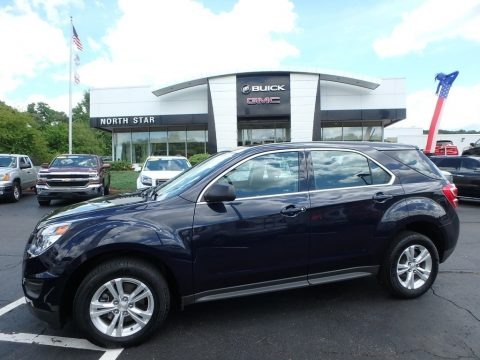 Blue Velvet Metallic 2016 Chevrolet Equinox LS AWD