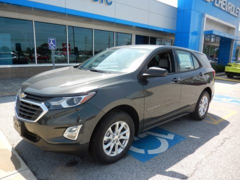 Nightfall Gray Metallic 2019 Chevrolet Equinox LS AWD
