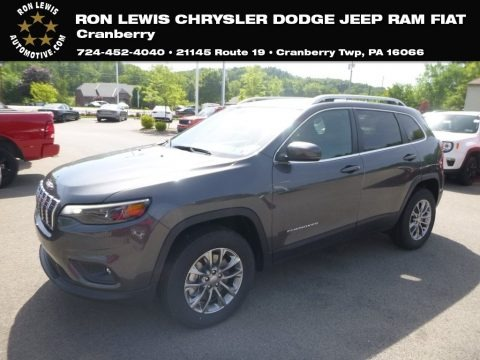 Granite Crystal Metallic 2019 Jeep Cherokee Latitude Plus 4x4