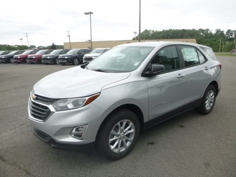 Silver Ice Metallic 2020 Chevrolet Equinox LS AWD