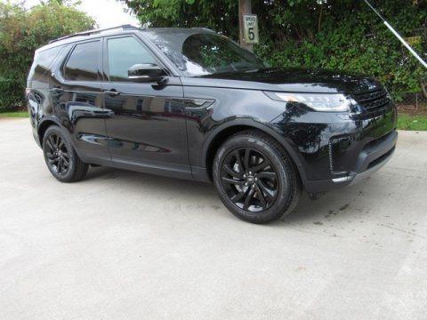 Farallon Black Metallic 2019 Land Rover Discovery HSE