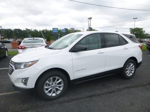 Summit White 2019 Chevrolet Equinox LS AWD