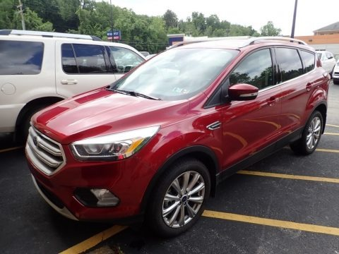 Ruby Red 2017 Ford Escape Titanium 4WD