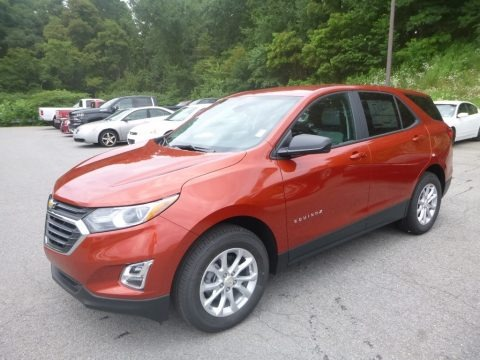 Cayenne Orange Metallic 2020 Chevrolet Equinox LS AWD