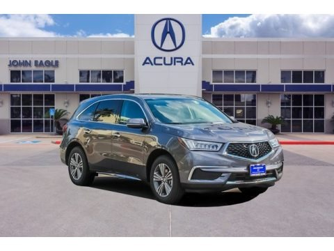 Modern Steel Metallic 2019 Acura MDX