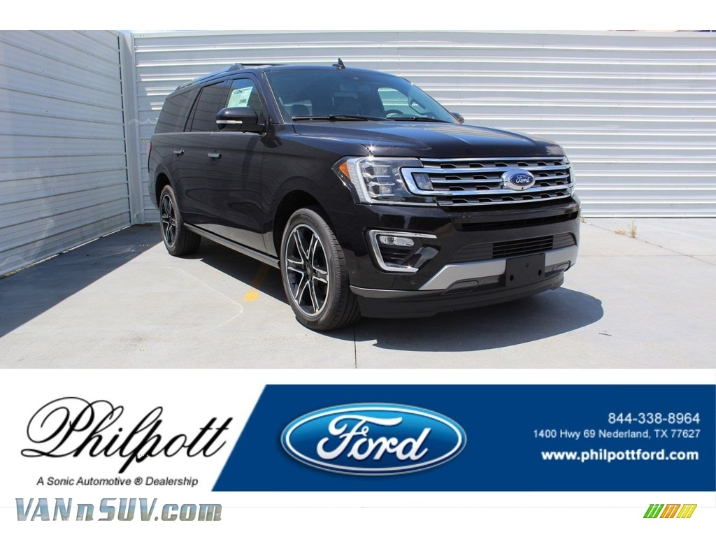 Agate Black Metallic / Ebony Ford Expedition Limited