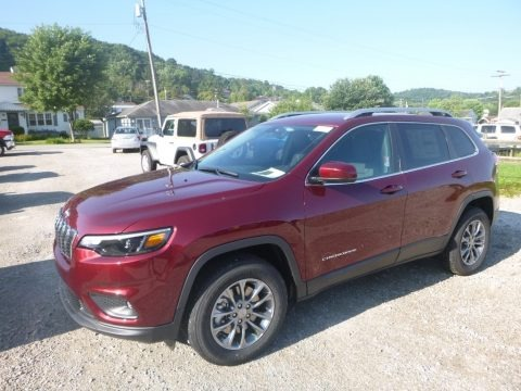 Velvet Red Pearl 2019 Jeep Cherokee Latitude Plus 4x4