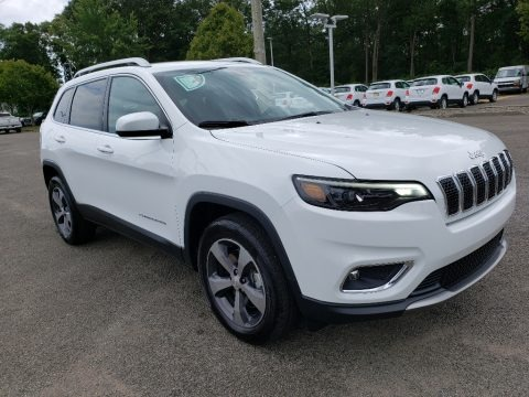 Bright White 2019 Jeep Cherokee Latitude Plus 4x4