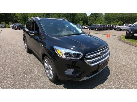 Agate Black 2019 Ford Escape Titanium 4WD