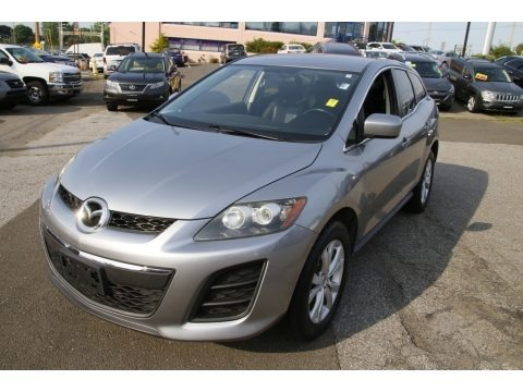 Liquid Silver Metallic 2011 Mazda CX-7 s Touring AWD